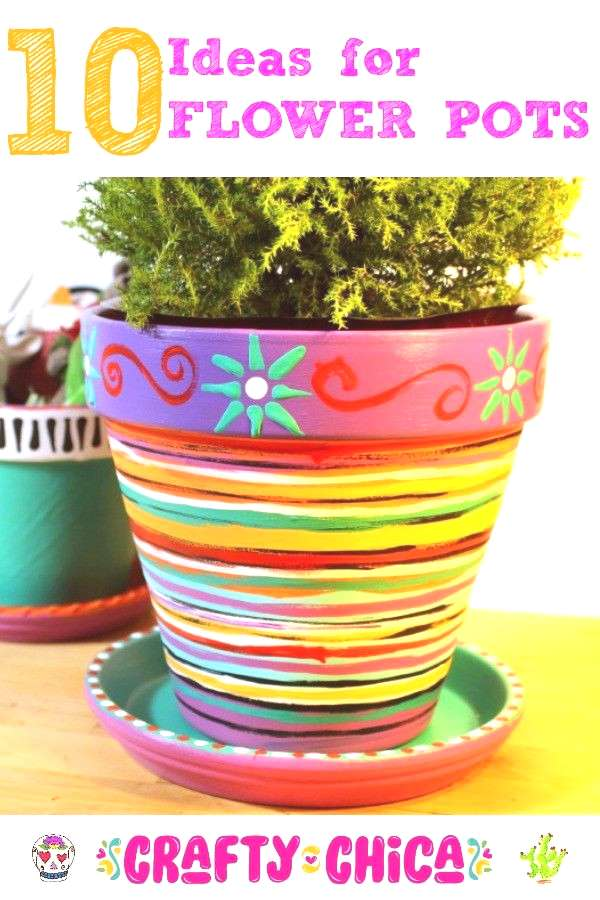 10 flower pots ideas to liven up your spring decor!
