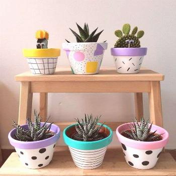 25 creative DIY ideas with beautiful pots to welcome Spring | My desired home