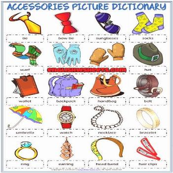 ESL Printable Picture Dictionary Worksheet        A picture dictiona...        Accessories ESL Prin