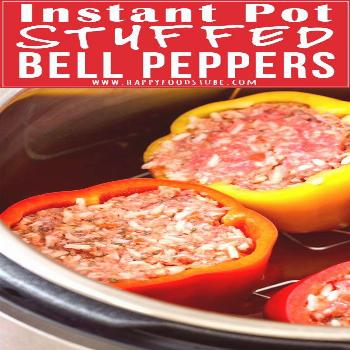Instant Pot Stuffed Bell Peppers Recipe This Instant Pot Stuffed Bell Peppers is quick and easy pre