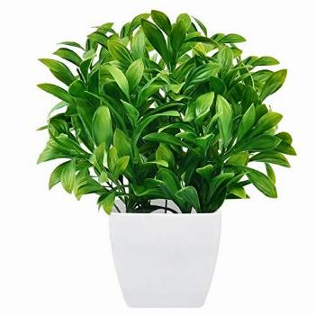 Martine Mall Faux Eucalyptus Plants Potted, Artificial