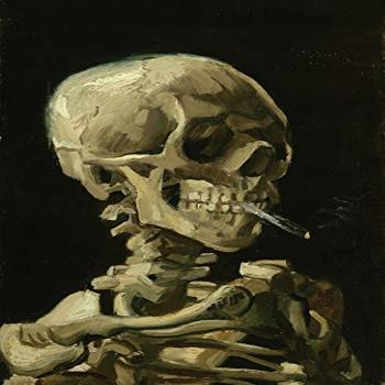 Palace Learning Vincent Van Gogh (Skull with Cigarette,