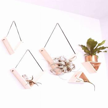 Set of 5 Handmade Triangle Shelves https:///set-of-5-handmade-triangle-shelves/