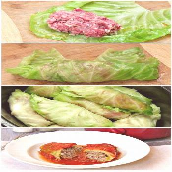 Slow Cooker Cabbage Rolls In Tomato Sauce You must try this Slow Cooker Cabbage Rolls In Tomato Sau