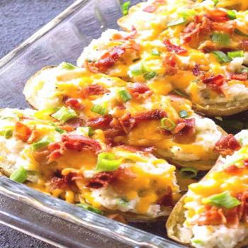 The Ultimate Twice Baked Potatoes - you can go wrong with this side dish. Twice Baked Potates are c