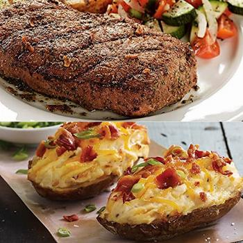 Top Sirloin and Potatoes Meal - 8 Top Sirloin Steak and 8