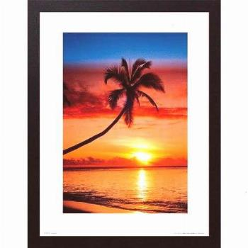 Urban Home Poster Palm Tree at Sunset |  East Urban Home Poster Palm Tree at Sunset | East Urban Ho