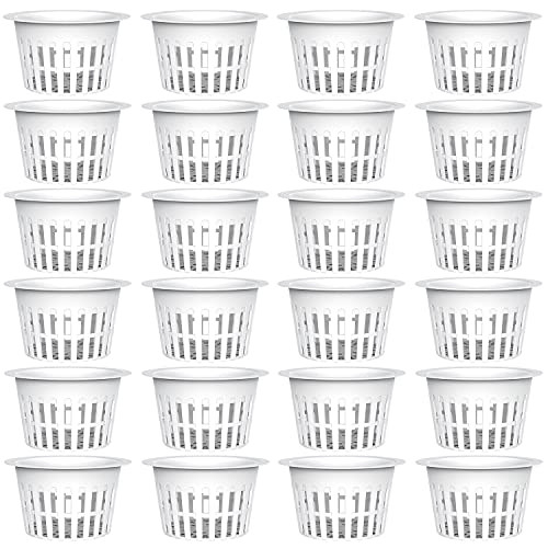 AxeSickle 3 Inch Plastic Net Cups Pots Plant Containers for