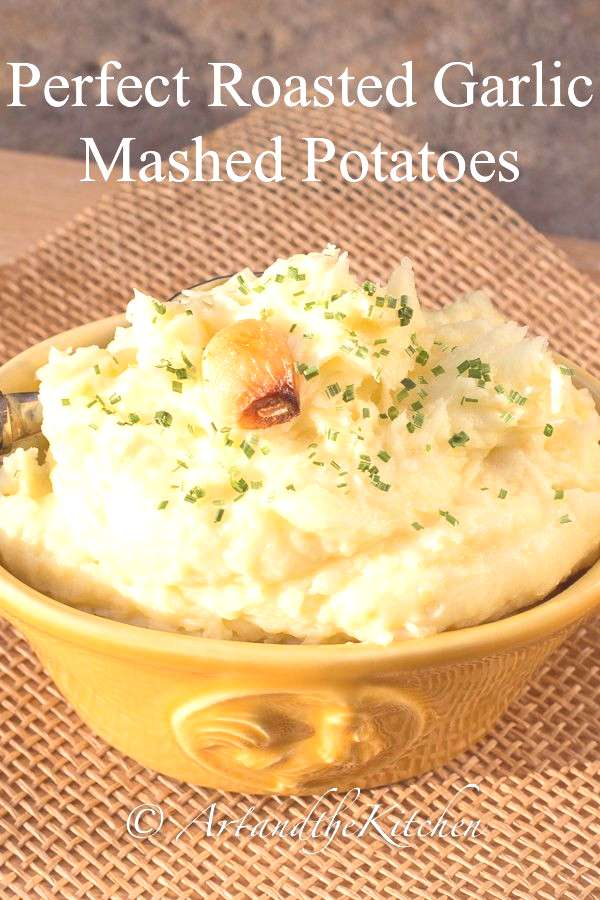Make Perfect Roasted Garlic Mashed Potatoes every time with these easy to follow instructions.
