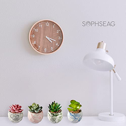 SOPHSEAG Fake Succulents Plants - Small Artificial